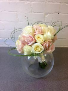 Pinks & Creams Rose Bridal
